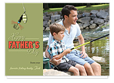 Fishing with Dad Father's Day Cards