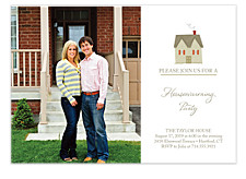 Little House Adult Party Invitations