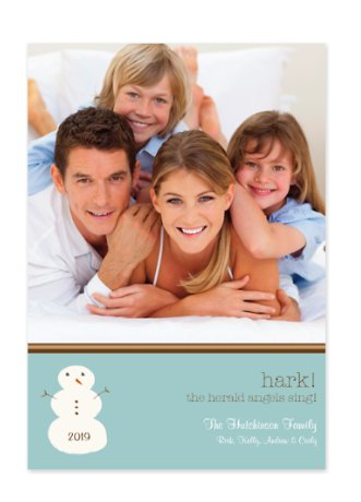 Hark Christmas Photo Cards