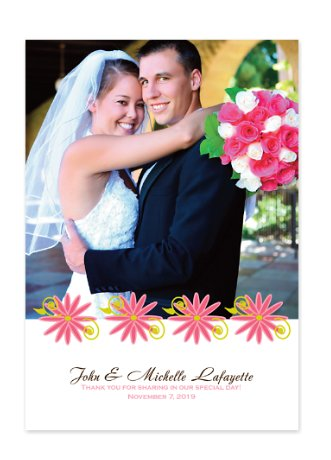 Gracious Wedding Thank You Cards