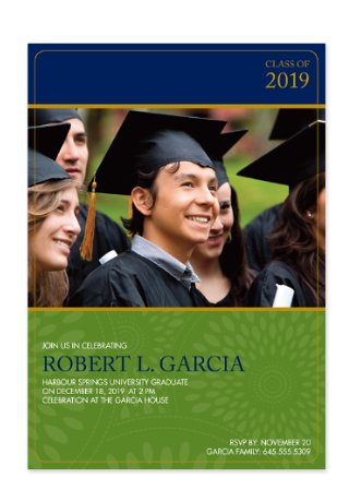 Graduation Day Invitation Photo Cards