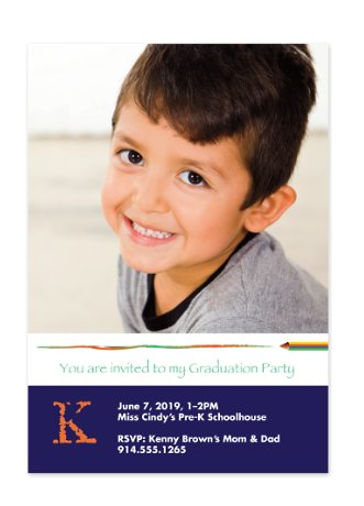 Graduation Invitation Photo Cards