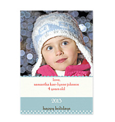 Cambridge Christmas Photo Cards
