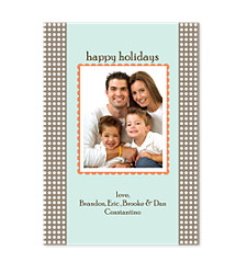 Electricity Christmas Photo Cards