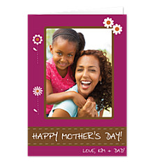 Eggplant Mother's Day Cards
