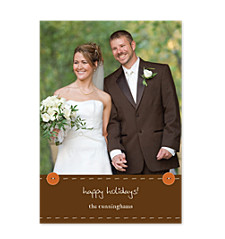 Simply Stitched Holiday Photo Cards