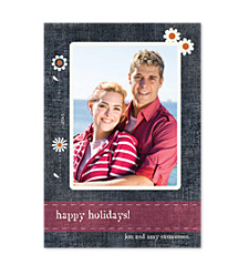 Embellished Photo Holiday Cards