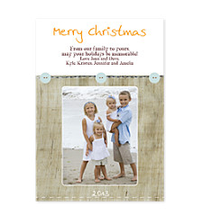 Shabby Chic Holiday Photo Cards