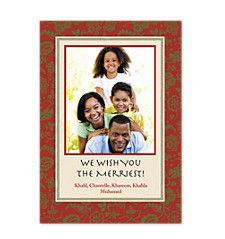 Tapestry Photo Holiday Cards