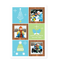 Winter Wonderland Photo Holiday Cards