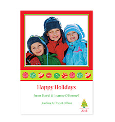 Sparkle and Shine Photo Christmas Cards