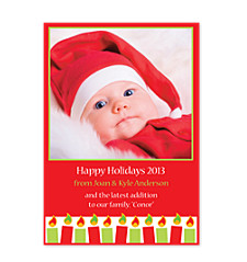 All is Bright Photo Christmas Cards
