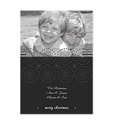Spinning Wheel Holiday Photo Cards