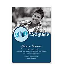 Memorable Year Graduation Invitation Photo Cards
