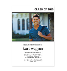 Well Done! Graduation Party Invitation Photo Cards