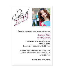 Fantastic Graduation Party Invitation Photo Cards
