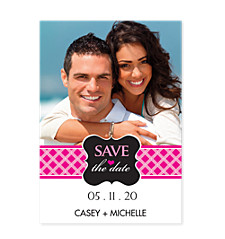 Can't Smile Without You Save the Date Cards