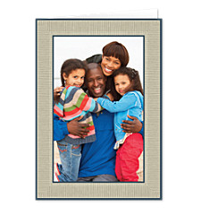 Cocoa Border Father's Day Photo Cards