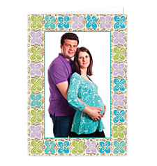 Floral Border Mother's Day Cards
