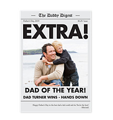 Extra Extra Dad Father's Day Cards