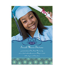 Pride Graduation Announcement Photo Cards