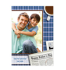 Headline News Father's Day Photo Cards