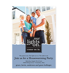Warming Adult Party Invitations