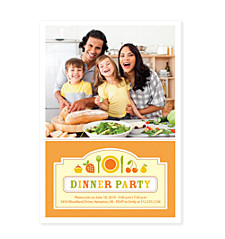 What's Cookin'? Photo Adult Party Invitations